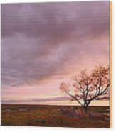 Storm At Dusk 2am-108346 Wood Print