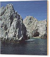 Granite Outcrop Cabo San Lucas Mexico Wood Print