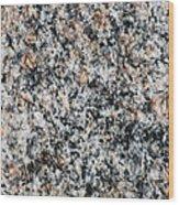 Granite Power - Featured 2 Wood Print