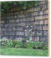 Granite Railroad Abutment Wood Print