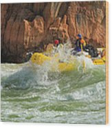 Granite Rapids Wood Print