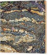 Granite Trail Wood Print