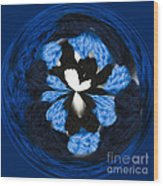 Granny Circle Wood Print