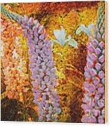 Granny's Gardens Wood Print
