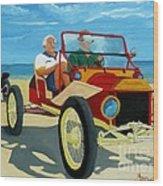 Granpas Racer Wood Print