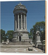 Soldier's And Sailor's Monument New York City Wood Print