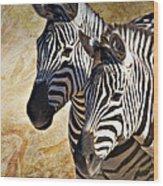 Grant's Zebras_b1 Wood Print