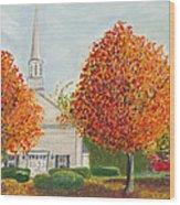 Granville Church Wood Print