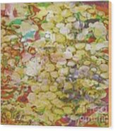 Grape Abundance Wood Print by PainterArtist FIN
