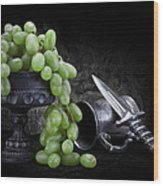 Grapes Of Wrath Still Life Wood Print