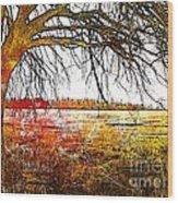 Graphic Tree Wood Print