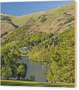 Grasmere Lake Wood Print