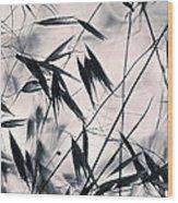 Grass 2 Wood Print