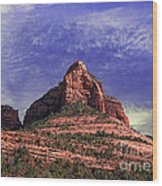 Grasshopper Point Sedona  Wood Print