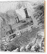 Grassi Locomotive, 1857 Wood Print