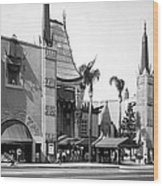 Grauman's Chinese Theater Wood Print