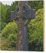 Grave Cross 4 Wood Print