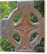 Grave Cross 5 Wood Print