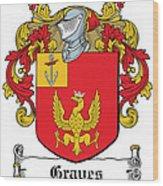 Graves Coat Of Arms Irish Wood Print