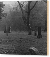 Graveyard 4 Wood Print