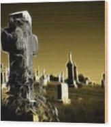 Graveyard 4730 Wood Print