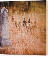 Graveyard 6792 Wood Print