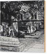 Graveyard Wood Print