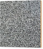 Gray Granite Wood Print
