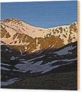 Grays Peak And Torreys Peak Panorama Wood Print