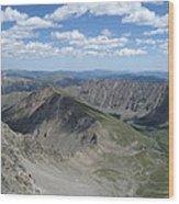 Grays Peak Wood Print