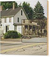 Gray's Store In Adamsville Rhode Island Wood Print