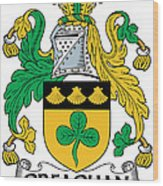 Greaghan Coat Of Arms Irish Wood Print