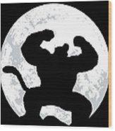 Great Ape Wood Print