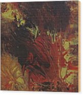 Great Ball Of Fire Wood Print
