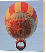 Great Ballon Ride Wood Print