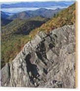Great Balsam Mountains - Blue Ridge Parkway Wood Print