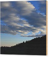 Great Balsam Mountains Nc Wood Print
