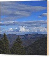 Great Balsam Mountains-north Carolina Wood Print
