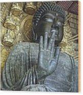Great Buddha Of Nara Japan Wood Print
