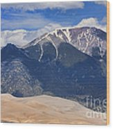 Great Colorado Sand Dunes 125 Wood Print