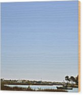 Great Cross - Nombre De Dios - St Augustine Wood Print by Christine Till