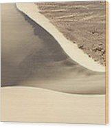 Great Dune At Aswan Wood Print