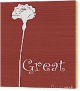 Great Wood Print