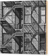 Great Escapes II Wood Print