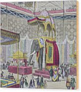 Great Exhibition, 1851 Indian Wood Print