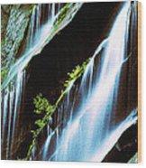 Great Fall Wood Print