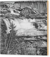 Great Falls 14140 Wood Print