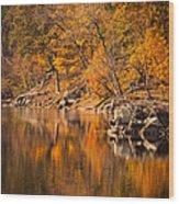 Great Falls National Park Wood Print