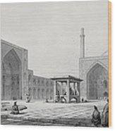 Great Friday Mosque In Isfahan Wood Print