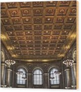Great Hall St. Louis Central Library Wood Print